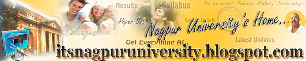 Nagpur University's Home ...