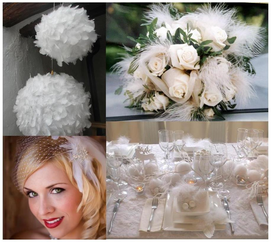 White Wedding Decorations. White wedding decor, White