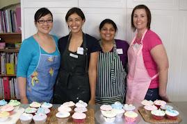 Baking cupcake workshop