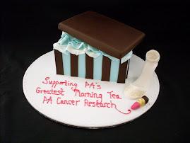 Fund raising cake