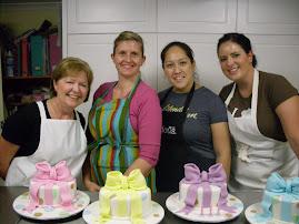 Bow cake class