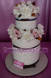 Advanced 1.Extended tiers cake workshop