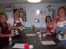 Beginners baking cupcake class.