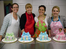 Beginners bow cake workshop.