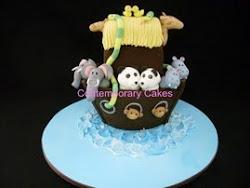 Intermediate 4 Noahs Ark cake class