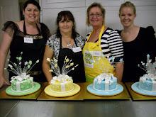 Shooting Stars cake workshop.