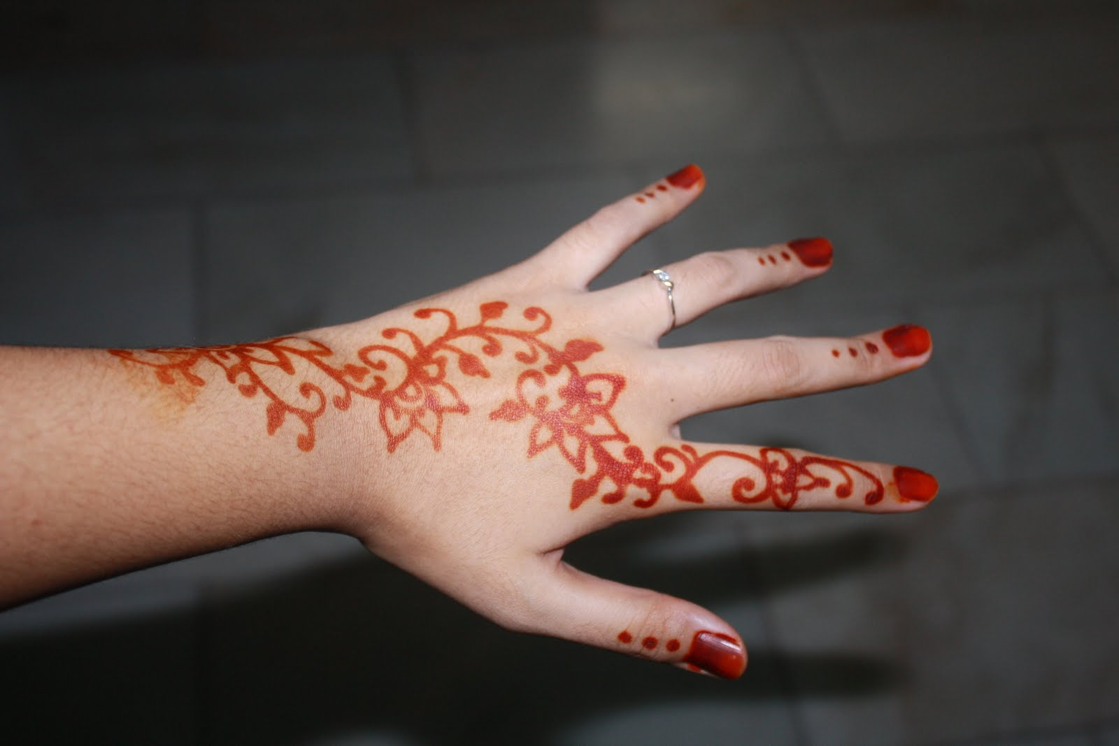 Musings Of A Bridehas Been Henna