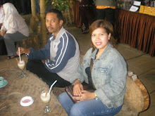 with my hubby-vacation 2006 ,Indonesia Bukit Tinggi