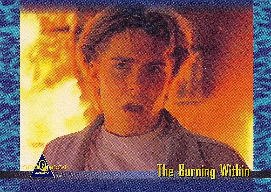 Jonathan Brandis! Is your 'Teen Trouble' a result of 'The Burning Within' ?