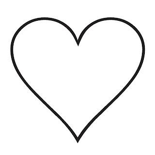 dibujo rosa corazon: