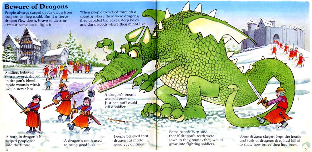 Fantasy Game Book Influences Dragons 1979