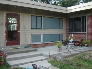 mid century modern front porch. A Couple Years Ago, I Pulled Out All The Front Landscaping, Including Wood Enclosures And White Gravel. Mid Century Modern Porch