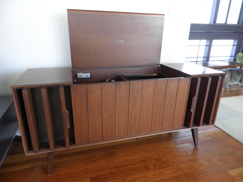 Thrift Store Score   Zenith Stereo Cabinet