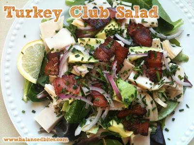 Turkey & Bacon Club Salad