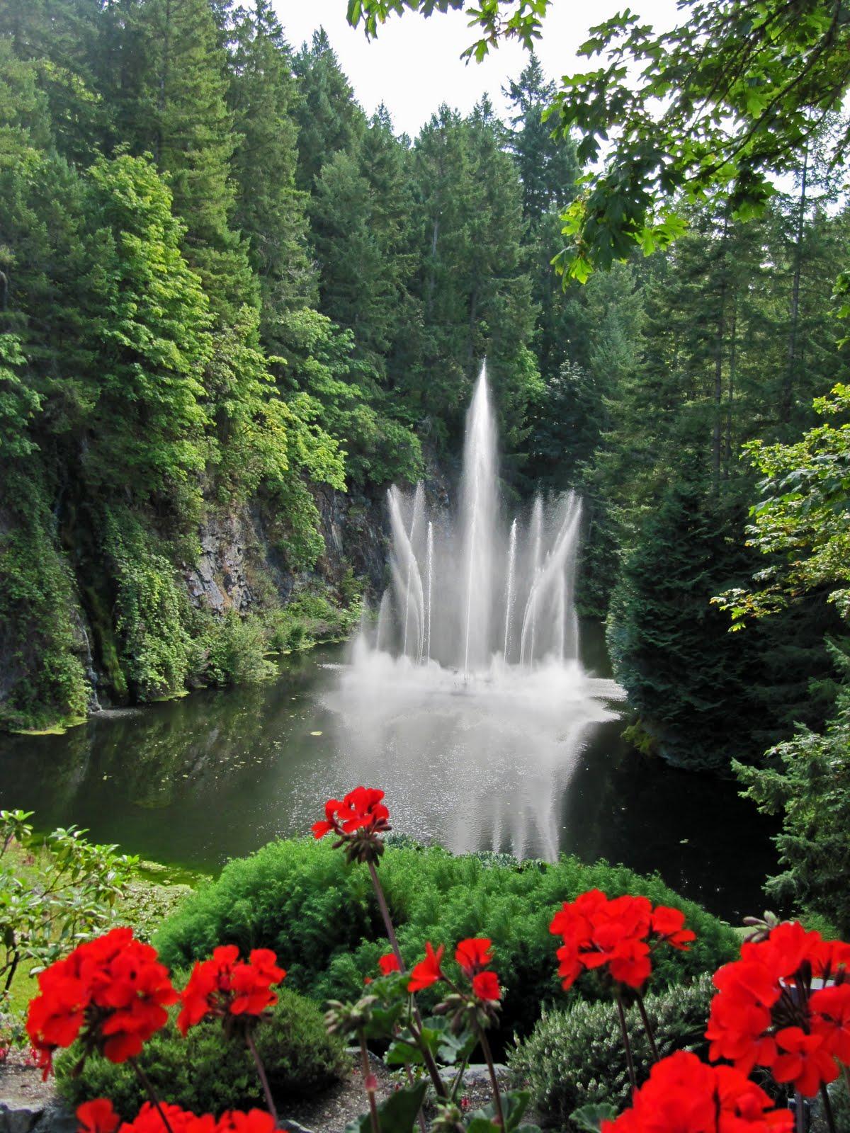 Bell Street Journal O Canada O Butchart Gardens