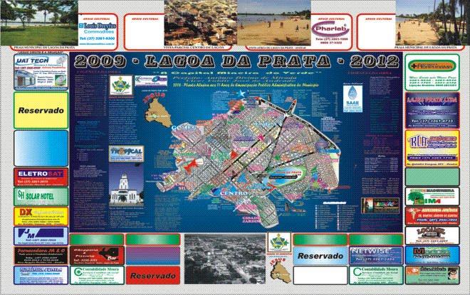 Planta Oficial Lagoa da Prata