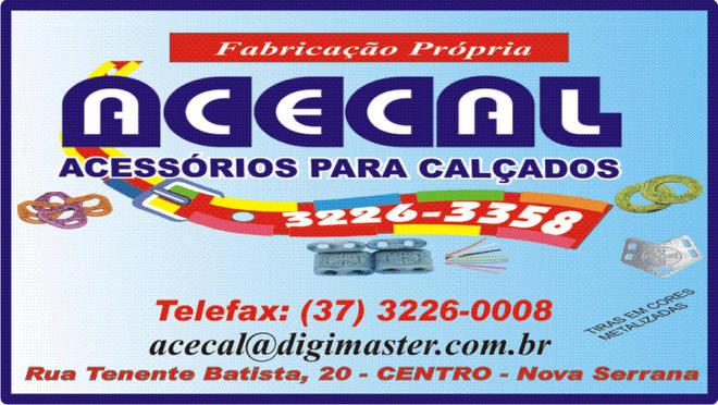 Acecal - Indústria de Componentes p/ Calçados