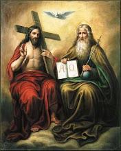 A Trindade O Pai, O Filho e O Espírito Santo do Altíssimo