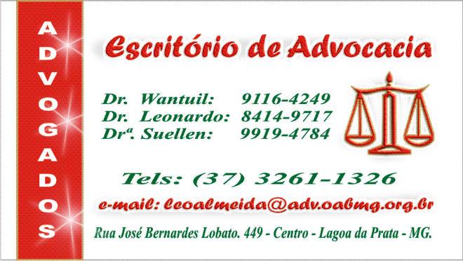 ** Escritório de Advocacia - Tel: (37) 3261-1326 **