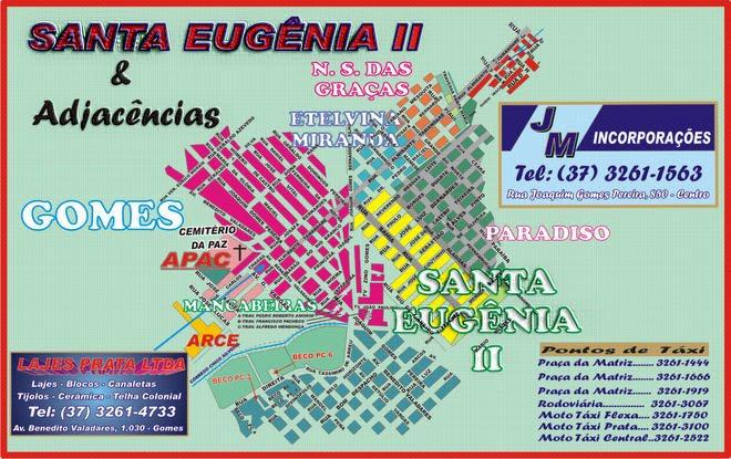 Santa Eugênia II - Planta
