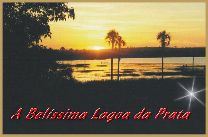 * Crepúsculo na Lagoa da Prata