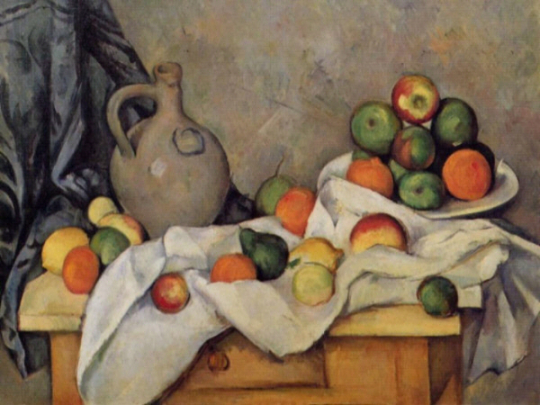 paul cezanne apples and oranges essay Read this full essay on analysis of still life with apples and oranges by paul  cezanne this assignment will provide an analysis of the modernist artwork of.