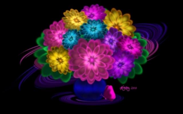 389051 - Digital Flowers