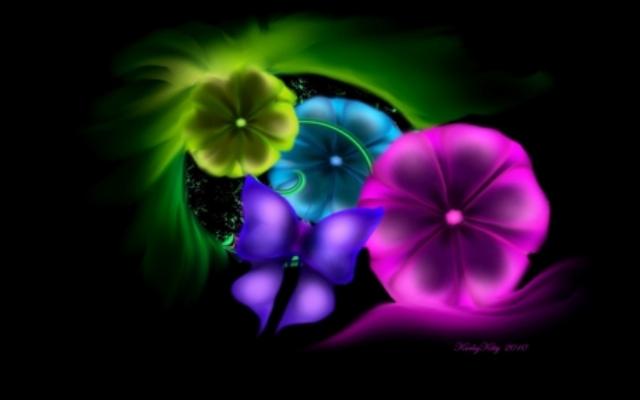 372233 - Digital Flowers