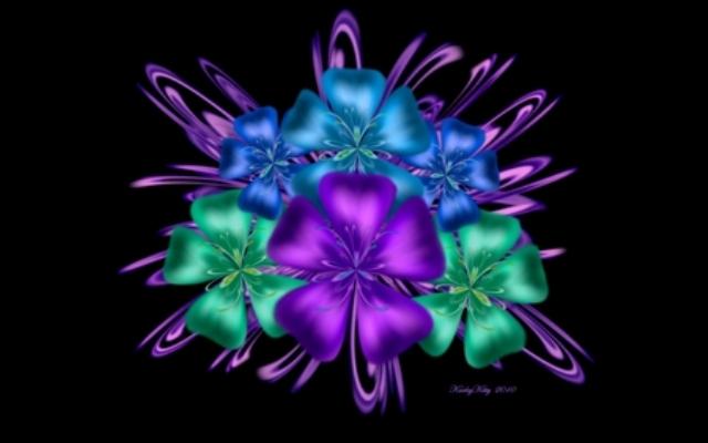 337064 - Digital Flowers