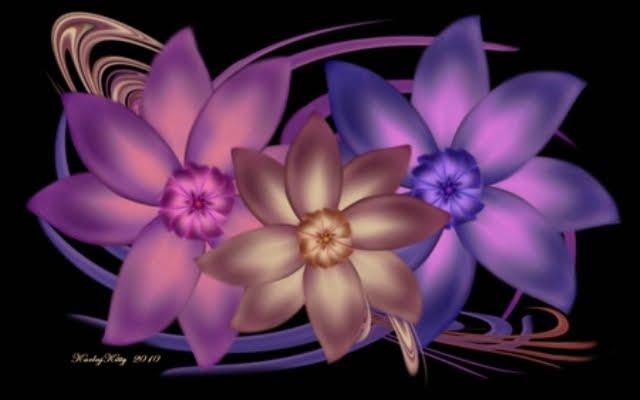 353009 - Digital Flowers