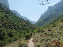 Vikos gorge noordwest Griekenland