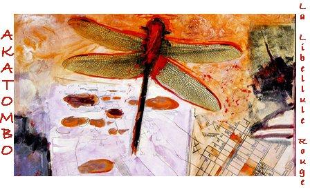 Akatombo - La libellule rouge