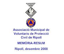 Presentació Memòria 2008