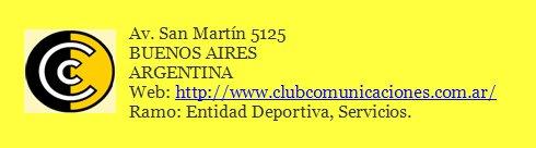 """<a href=""""http://www.clubcomunicaciones.com.ar"""">CLUB COMUNICACIONES</a>"""