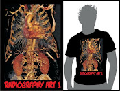 T-shirt Radiography Art 1