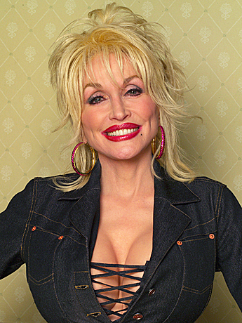 Dolly%2BParton The beautiful blonde mature is wearing a bustier and sexy black stockings as ...