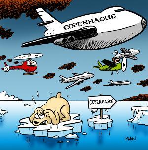 Copenhague Réchauffement climatique L'1so- Où Ai-Je La Tête ?