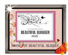 CONGRATULATIONS!!!!!!   BEAUTIFUL BLOGGER AWARD
