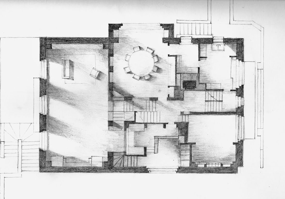 Architectural Design Studio 3 2010 Fbe Unsw Parti Amp Poche