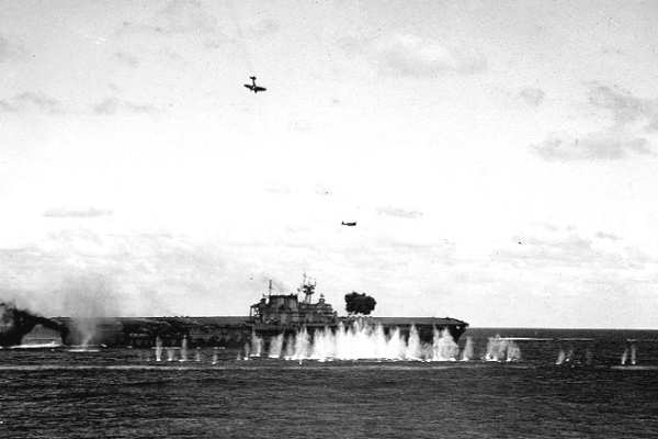 USS Hornet CV 8