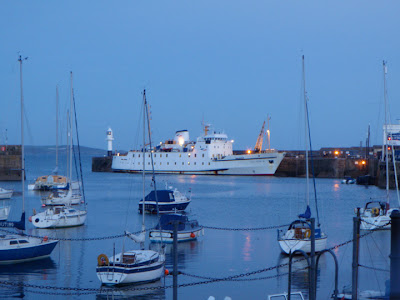 Scillonian III docked at Penzance