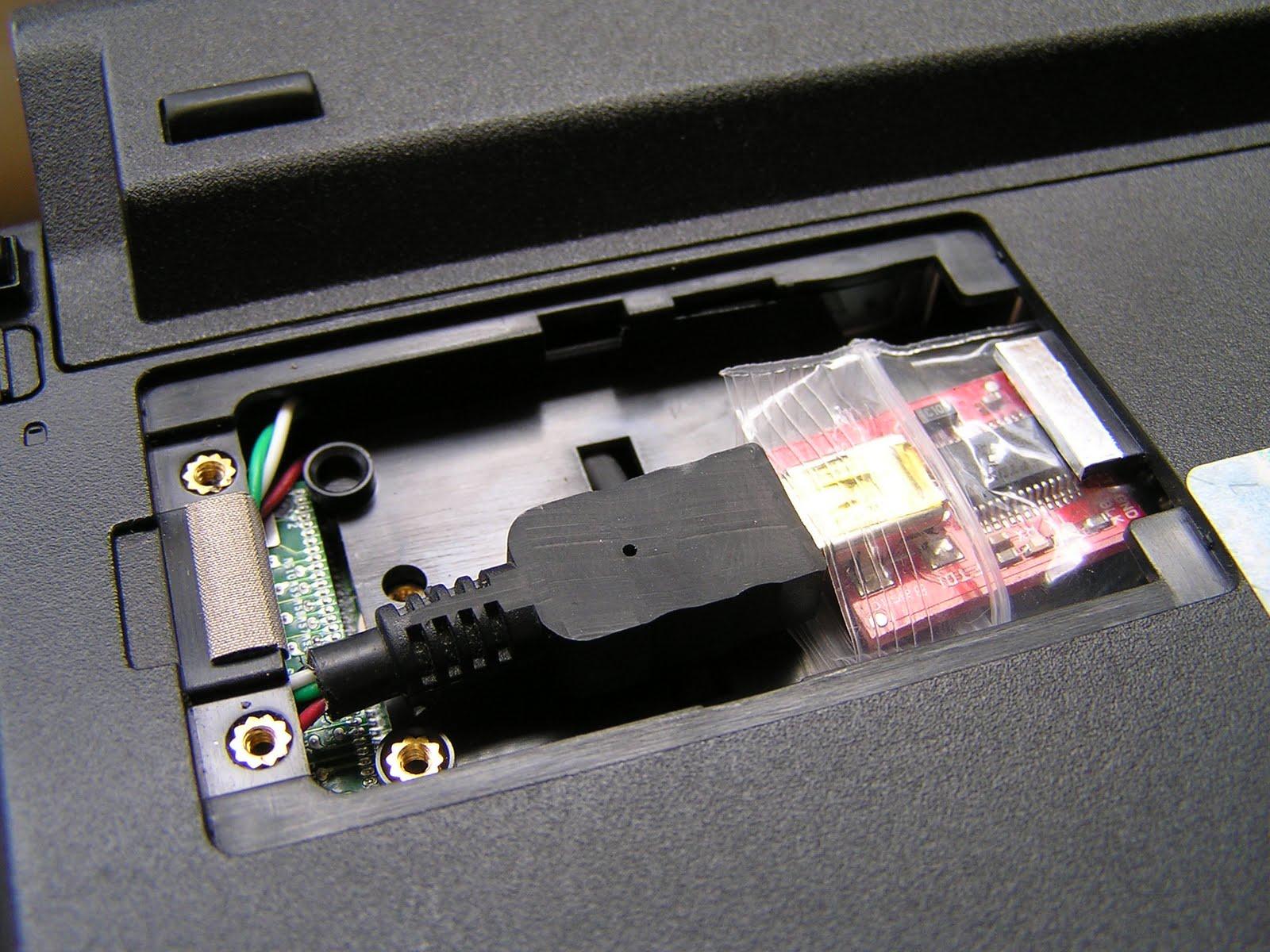 Hardware hack arduino inside