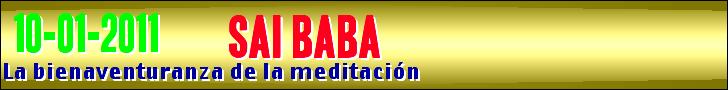 La bienaventuranza de la meditación