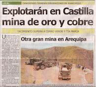 Nuevo descubrimiento en Arequipa, Huancarqui