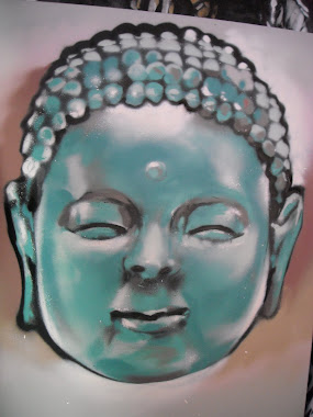 Buddha turqouise