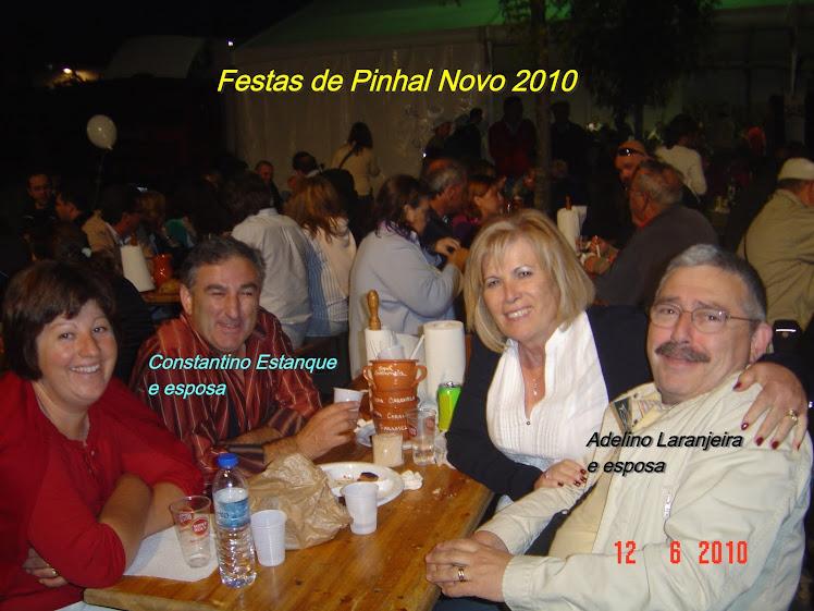 COMANDANTE LARANJEIRA e ESPOSA CONSTANTINO ESTANQUE e ESPOSA