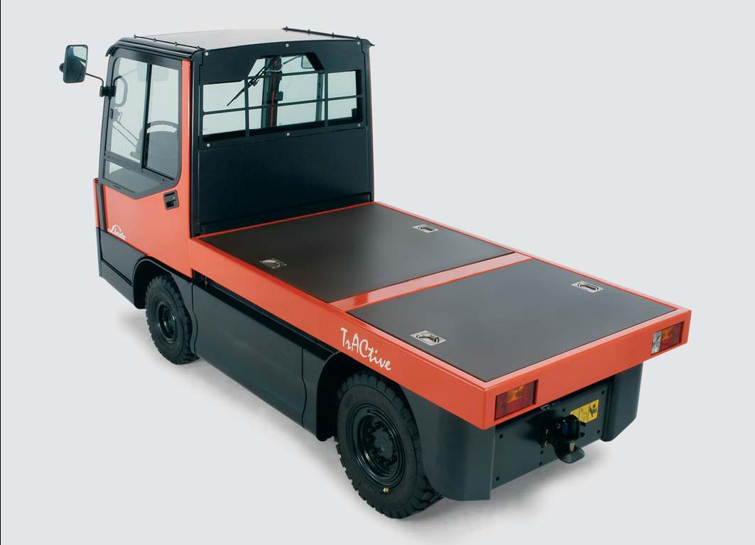 Linde Tow Tractor : Linde material handling tow tractors w overview