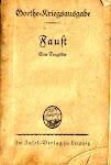 """""""O sangue é um suco verdadeiramente notável"""" (In: """"Fausto"""", de Johann Wolfgang von  Goethe)"""