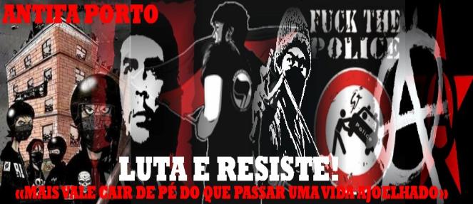 LUTA E RESISTE ! ANTIFA