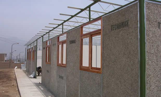 El universal peru proponen que las paredes de las casas for Techos livianos para viviendas